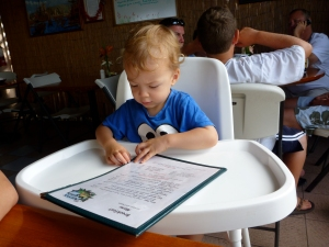 coffee shack hawaii with toddlers