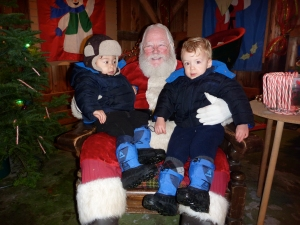 best place to visit santa near seattle with kids
