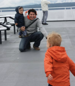 BC ferries with young kids