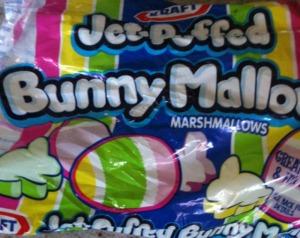 bunny shaped marshmallow