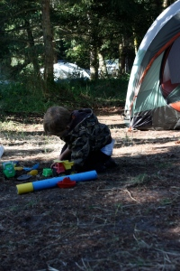 camping with toddlers in the northwest