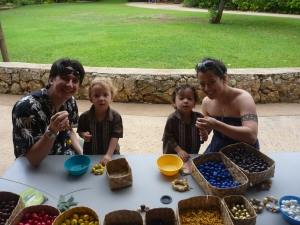 Polynesian cultural center with kids
