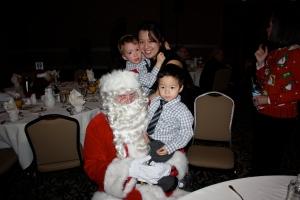 seattle santa breakfast with kids