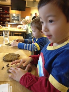 Gingerbread class with kids