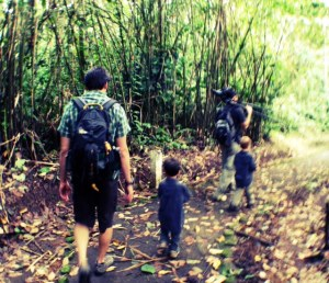 traveling with young kids in costa rica on global family adventure tour