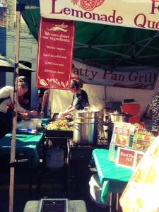 local produce at seattle farmers market in ballard