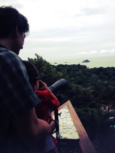 family travel in costa rica at the hotel si como no in manuel antonio