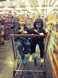 Costco with kids while traveling