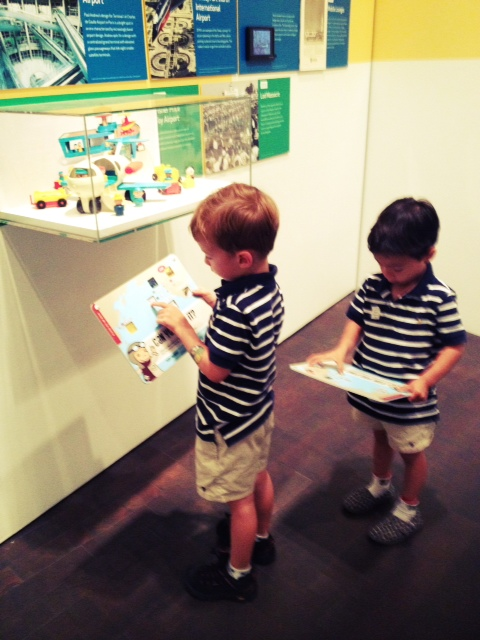 Denver Art Museum with kids