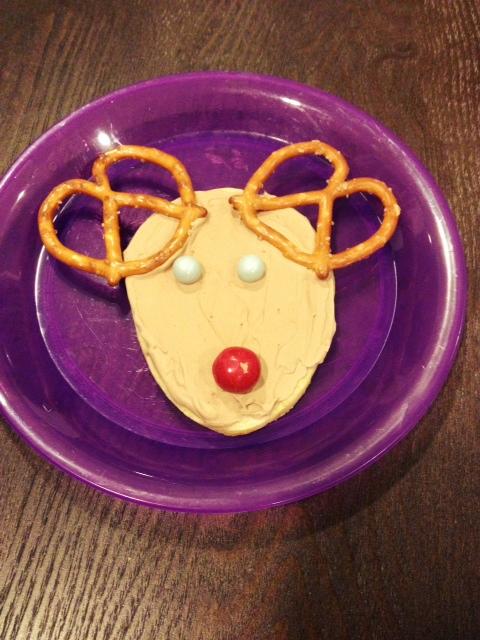 easy reindeer cookies kids can make