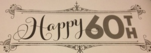 Happy 60th birthday party ideas