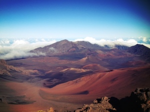 edge of the world in maui haleakala